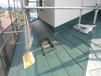 下屋 金属製屋根 完了 トップライト