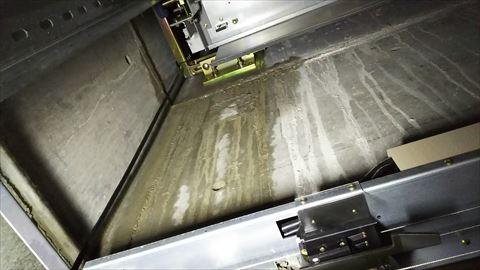 エレベーターシャフト内漏水