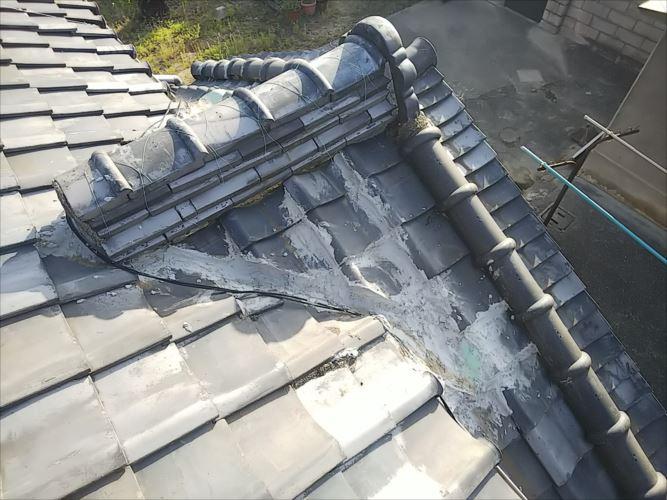 屋根 雨漏れ箇所