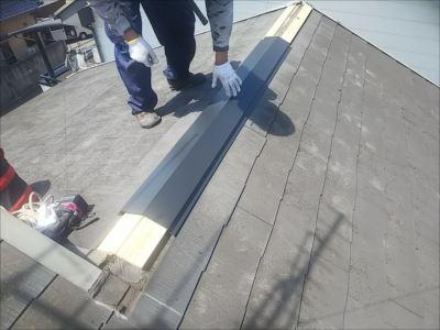 施工事例 完工写真 ガルバリウム鋼板