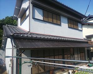 堺市南区 現地調査 瓦屋根