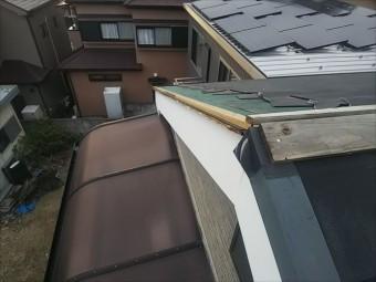 屋根金物飛散箇所