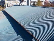 波鉄板屋根