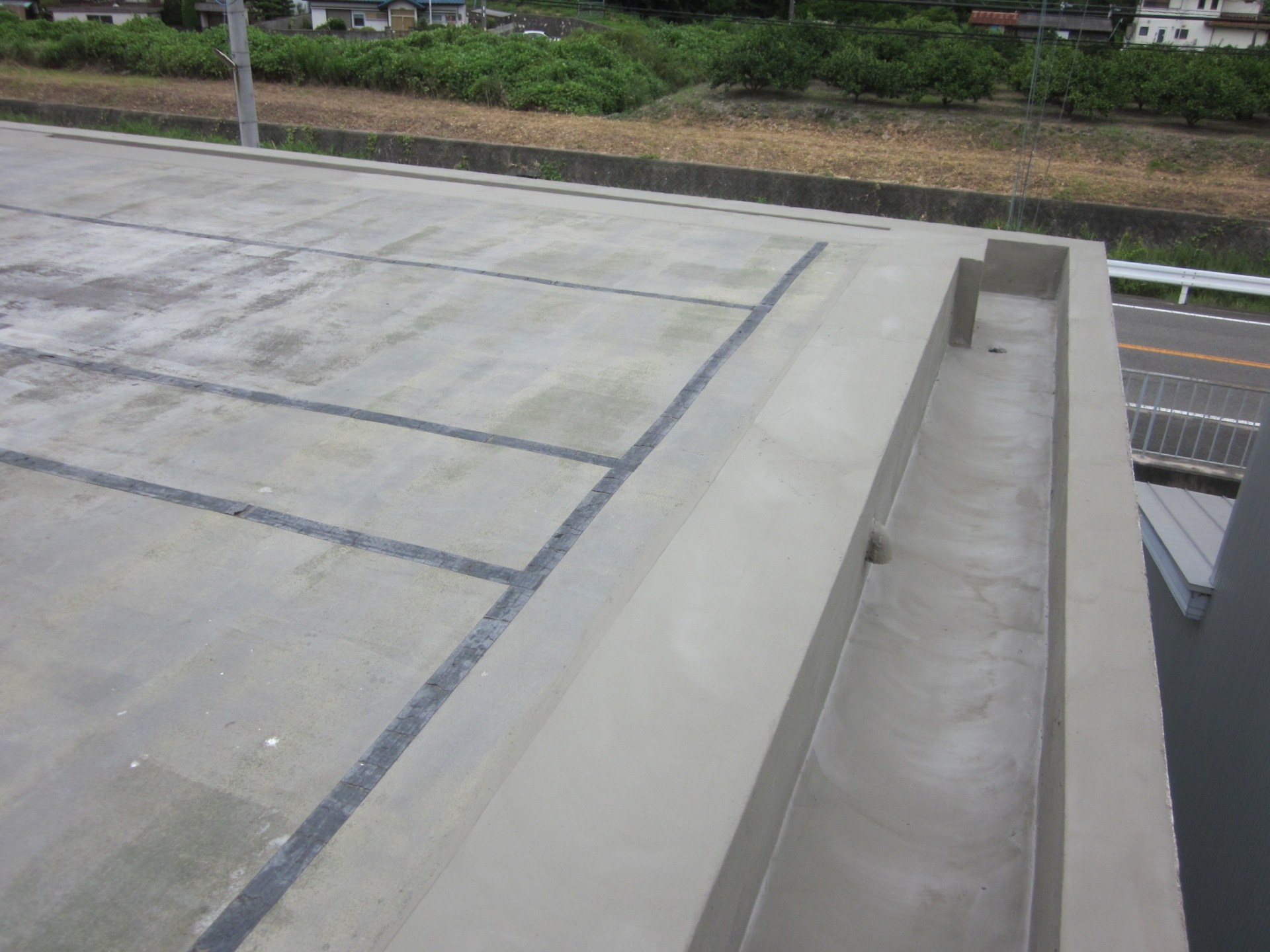 屋上 防水下地処理