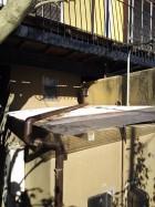 既存波板屋根状況工事前