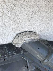 大屋根 壁・棟取り合い部