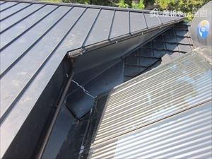 金属製屋根材施工