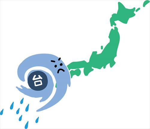 台風 コラム