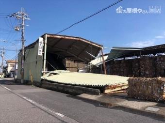泉佐野 工場 台風