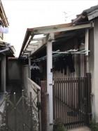 堺市西区津久野 波板張替え 現地調査