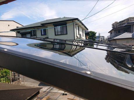 屋根上張替完了状態