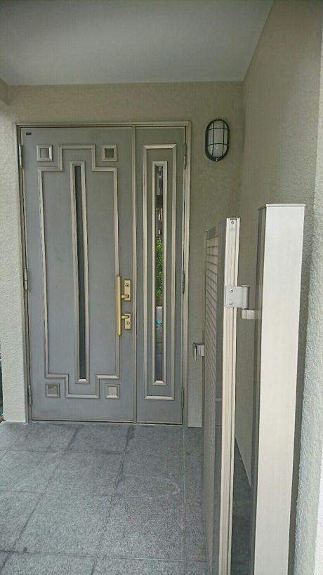玄関廻り仕上がり