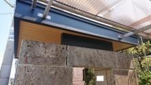 門屋根・天井補修完了