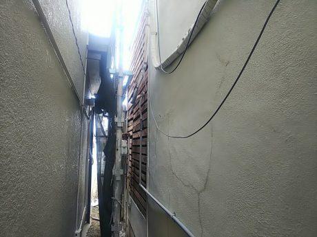 外壁剥がれ状況