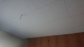 天井補修貼り完了