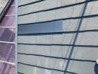 スレート屋根材 割れ GL鋼板補修後