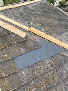屋根 貫板取付