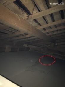 屋根裏現状