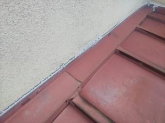 壁際水切りシール切れ