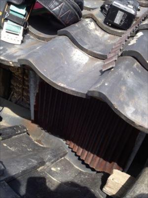 屋根取り合い部分板金