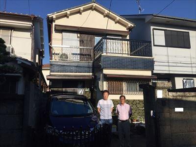 堺市西区にて瓦屋根破損で屋根他改修工事を致しましたO様の声!