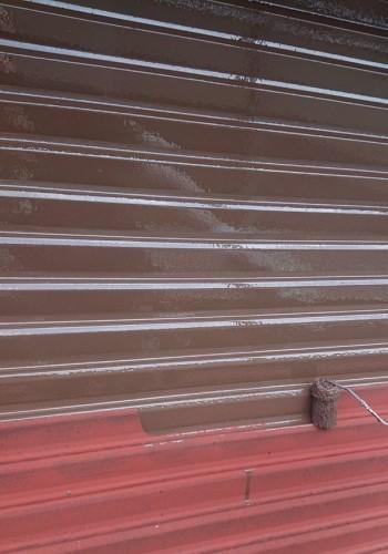 雨戸 金属部塗装 塗装工事 鉄部