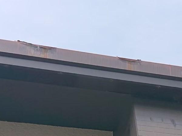 雨樋 錆び 現地調査